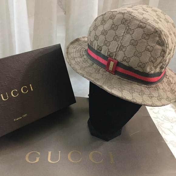 Gucci Accessories - 🆕 Gucci GG Monogrammed Bucket Hat 👒 401c319f4431